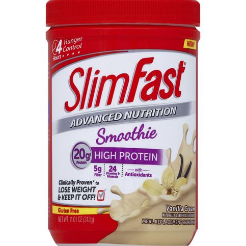 Slim Fast Advanced Nutrition Smoothie Mix