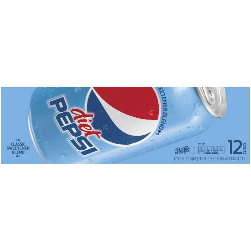 12 pack diet pepsi food city how much
