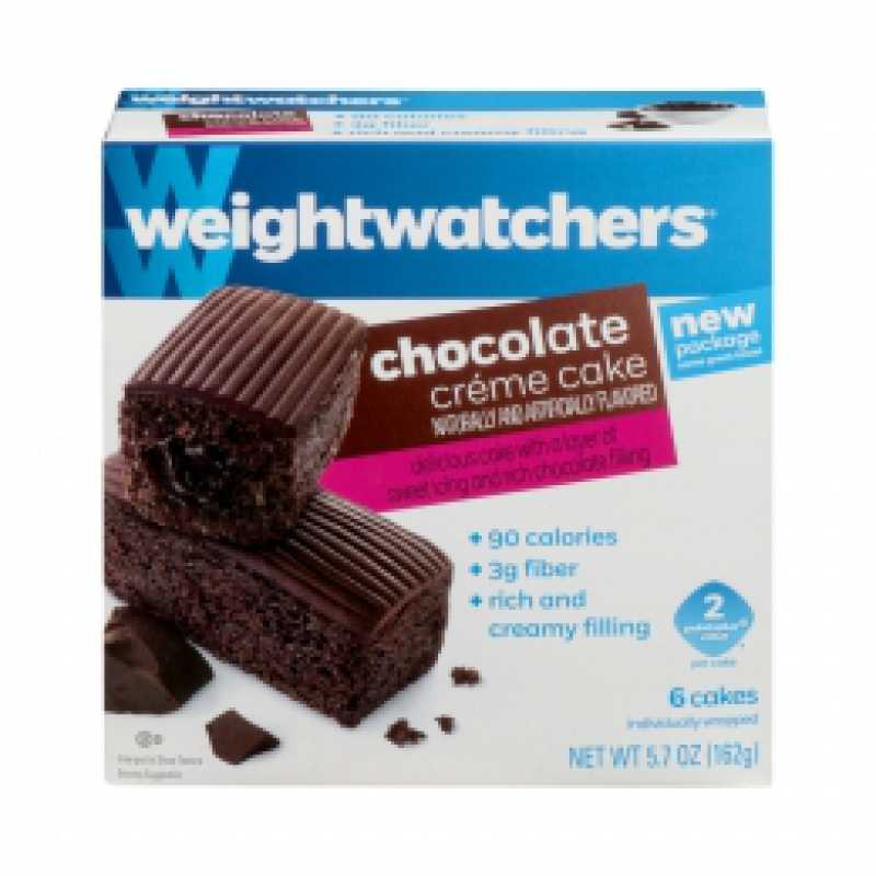 Groovy Food City Weight Watchers Chocolate Creme Snack Cake Funny Birthday Cards Online Aeocydamsfinfo