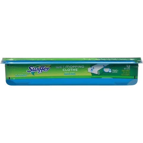 Swiffer Sweeper Wet Mopping Cloths Mop