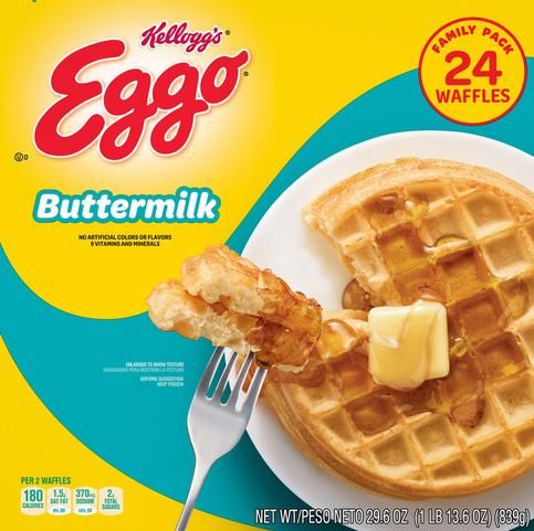 Food City   Eggo Waffles