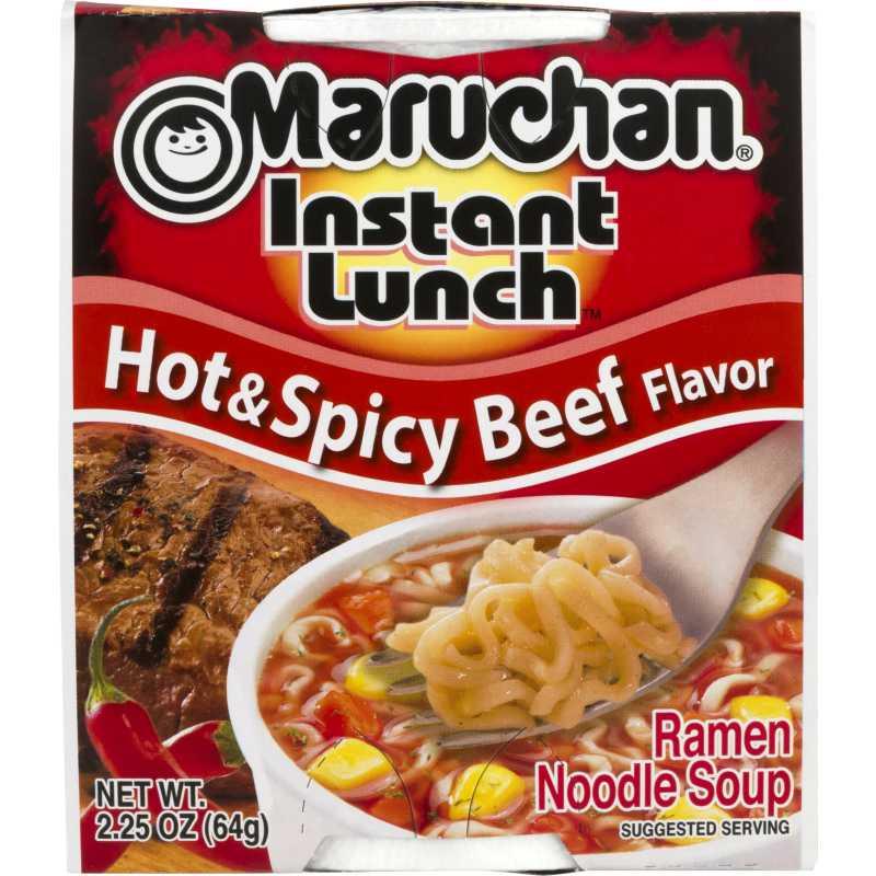 Spicy Beef Flavor Ramen