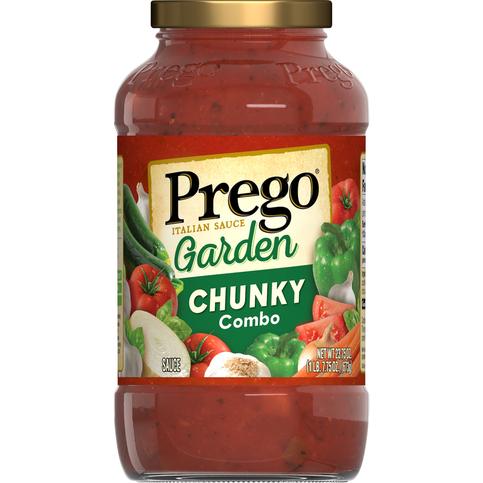 Prego Italian Sauce - Chunky Garden Combo