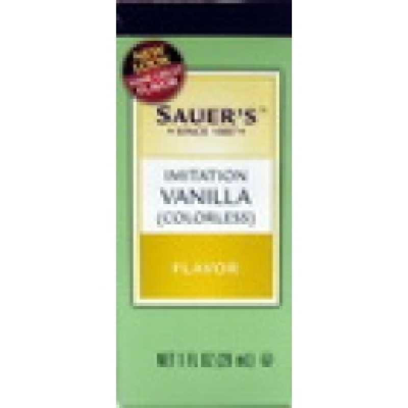 Sauer's Imitation Vanilla Flavor