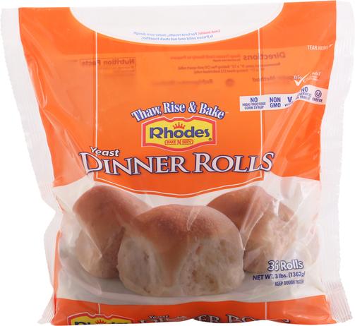 Food City Rhodes Dinner Rolls