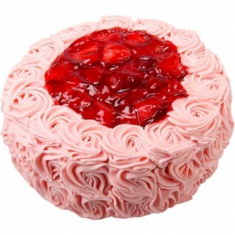 Cool Food City Strawberry Rosette Cake Funny Birthday Cards Online Drosicarndamsfinfo