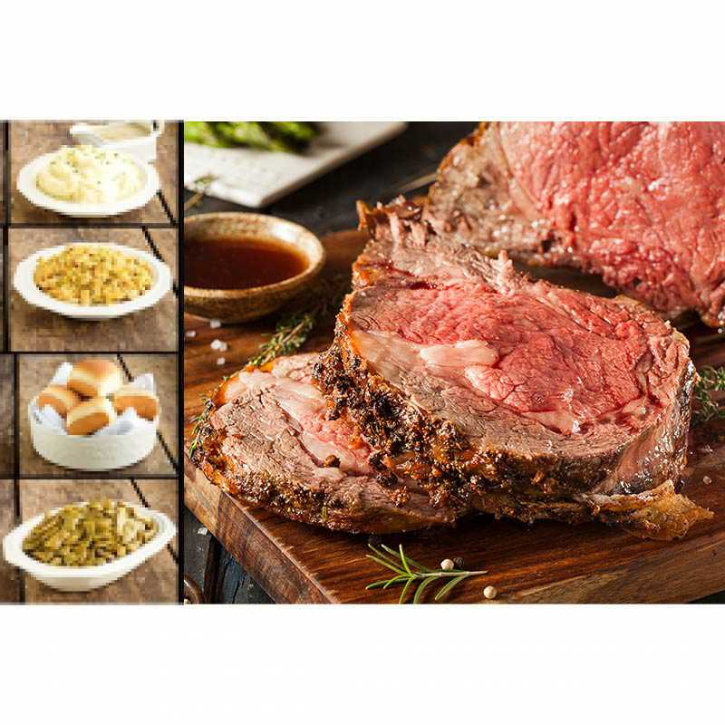 Food City Holiday Meal Prime Rib Dinner