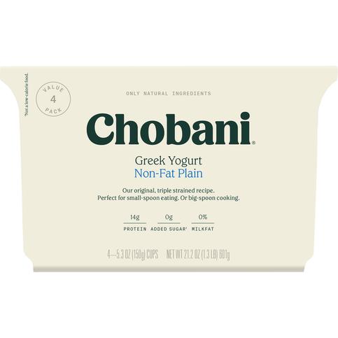 Chobani Chobani Greek Yogurt Plain